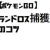 【ポケモンGO】ランドロス捕獲のコツ